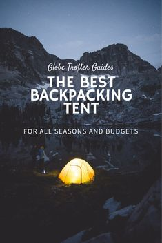Finding the best budget backpacking tent will be easy once you've read this guide. Find the best backpacking tent for your trip with our top picks and expert guide. Best Backpacking Tent, Must Have Travel Accessories, Amazon Reviews, Better One, Best Budget, Places Around The World, Camping Hacks, Budgeting, Good Things
