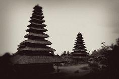 beautiful b+w shot at Besakih Temple