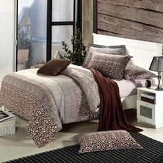 Queen Size Leopard Bedding Sets - EnjoyBedding.com