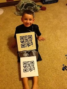 Also, not an iLesson. BUT - Truly - what a great and fun center activity for students to create their own QR codes and then build them with legos and scan. Wonder what this QR code linked to? @mathycathy