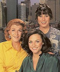 TV:Comedy Series - Rhoda  Nancy Walker, Valerie Harper and the future Mrs Homer Simpson.