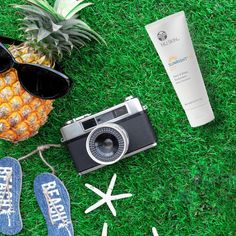 Excessive sun exposure can lead to unwanted consequences including premature appearance of the visible signs of ageing on the skin like lines and wrinkles. Protect yourself and promote youthful looking skin with Nu Skin Sunright 35 Nu Skin, Ageing, Summer Sun, Sunscreen, Face And Body, Anti Aging, Paradise, Spirit, Signs