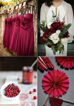 GetInspired...Cranberry! - Lucky in Love Wedding Planning Blog - Seattle Weddings at Banquetevent.com