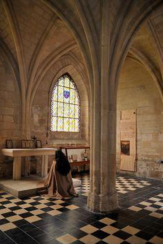 Abbaye royale du Moncel, Oise, Picardy, France