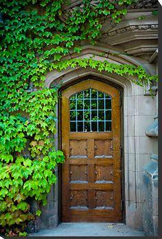 Door at Princeton University
