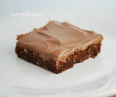 Zucchini Brownies-- These are easy and delicious! #zucchini #recipe