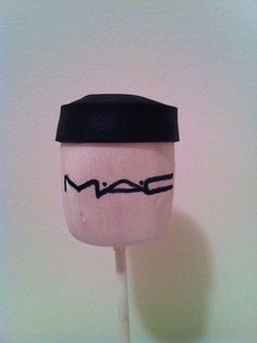 MAC makeup cake pops