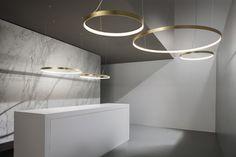 Round Pendant, Pendant Lamp, Pendant Lighting, Chandelier, Suspended Lighting, Kitchen Room Design, Bronze, Room Lamp, Led Module