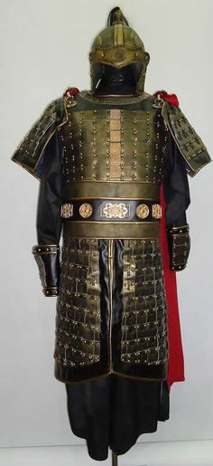Asian ring armour on leather galleries 719