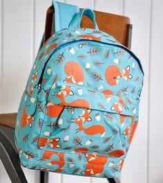 rusty the fox rucksack by little ella james | notonthehighstreet.com