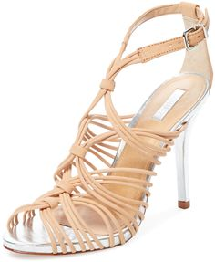 Dyvyna High Heel Strappy Sandal