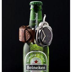 #mulpix pause #panerai # 😉 commerciale pam127 #fiddy #luminor # 1950 #wristwatch #davidlane #watchstrap #dailywatch #watchfam #watchnerd #risti #paneristi #paneraicentral #nikon #strobist #watchphoto #heineken #beer #officinepanerai #watches #lovewatches #watchesofinstagram