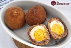 Nueva receta en el blog, conocéis los famosos huevos a la escocesa. Eggs Scoth http://www.recetasderechupete.com/huevos-escoceses-eggs-scoth/12409/ #receta