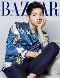 Song Joong Ki for Harper`s BAZAAR issue May 2016