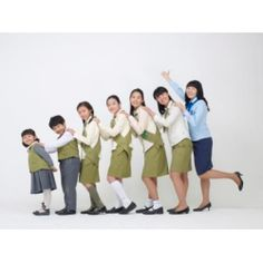 South Korean Girl Scouts of all ages (and a boy 'Twinkler Scout'- Rainbow or Daisy)