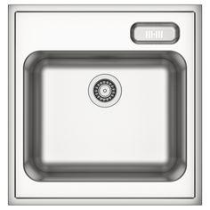 BOHOLMEN Single bowl sink Stainless steel 60x63.5 cm - IKEA