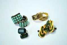 Vintage Earring Lot, Set of 4 Earrings, Costume Jewelry Lot