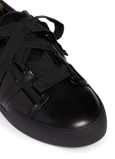 3.1 PHILLIP LIM 'Morgan' oversize shoelace leather sneakers