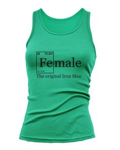 FEMALE IRON Elements Tank Top Training Workout by JustScott