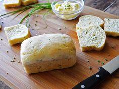 Sour Cream Chive Bread {Vegan}