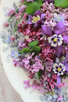 ☼ A Bowl of Summer Flowers ....