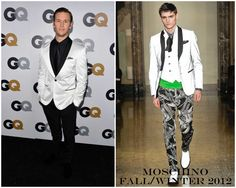 The Derek's Blog: Ryan Kwanten en Moschino - GQ Men of the Year Party 2012