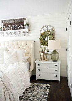 Romantic Farmhouse Master Bedroom Ideas (9)