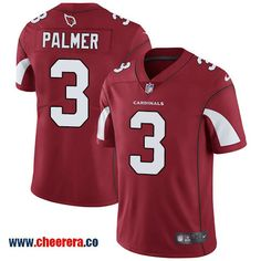 Nike Arizona Cardinals #3 Carson Palmer Red Team Color Men's Stitched NFL Vapor Untouchable Limited Jersey