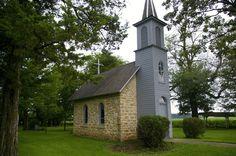 Find the World's Smallest Church near Festina, Iowa!