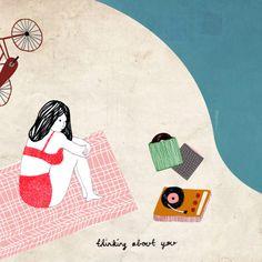 Lovely works by Dutch illustrator Manon de Jong, posted on the blog today: http://www.artisticmoods.com/manon-de-jong/