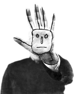 "the-eternal-moonshine: ""Saul Steinberg, self-portrait """