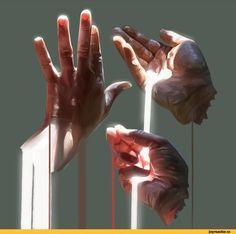 красивые картинки,руки,свет,art,арт
