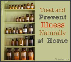 How+to+Treat+and+Prevent+Illness+Naturally+at+Home