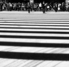 Crossing to the West entrance of Shinjuku Station. Shinjuku Japan, Entrance, Black And White, Entryway, Black N White, Door Entry, Black White