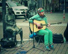 Rory Charles kam gleich danach! Coole Musik in der Ottensener Hauptstraße!