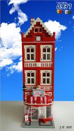 LEGO Moc Modular Friends' Cafe