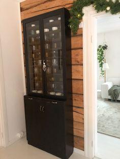 Old black glass cabinet, Slim cabinet, Black cabinet ideas, Wooden black cabinet, Musta vanha kaappi, Puukaappi