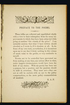 """poems of poe 