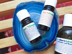 Living Libations True Blue Spirulina Shampoo, Zippity Dew Dab, Laurel Oracle, Green Papaya & Lime AHA Mask - The Clean Curator