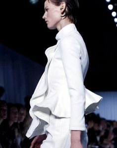 White Flare Jacket - Givenchy