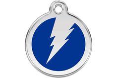 Red+Dingo+Enamel+Tag+Flash+Dark+Blue+01-ZF-DB+(1ZFNS+/+1ZFNM+/+1ZFNL)