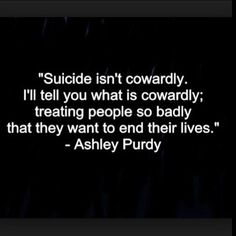 Fact ! Nobody deserves to be treated so badly that they even have to think about taking their own lives ! It's horrible , a little kindness goes along way . . . . . . . #getfollowers #fff #lfl #deep #followforfollow #spamforspam #followme #quotes#suicidalthoughts  #Regram via @feelsdestroyed_