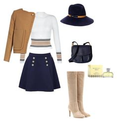 """""""Senza titolo #2"""" by elenakuznetco on Polyvore featuring moda, Tommy Hilfiger, New Look, See by Chloé, Gianvito Rossi, Eugenia Kim, Marc Jacobs e Burberry"""