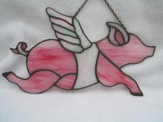 stained glass pig - Google Search