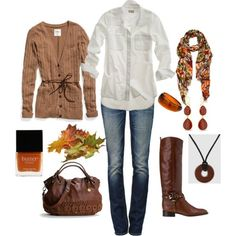 I'm so ready for fall... I know I won't get to wear any of these clothes though.