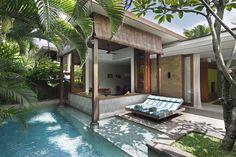 villa 1 bedroom, luxury 1 bedroom villa seminyak, pool Gorgeous Villas Bali