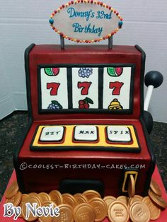 Cakes in las vegas. by adding a special las vegas theme to the cake. want the image of a slot machine on. what kind of theme you want on your cake,. Casino Night, Casino Party, Casino Theme Parties, Party Themes, Party Ideas, Vegas Party, Party Fun, Funny Videos, Videos Fun