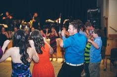 The Chicken Dance - http://www.davingphotography.com/2013/07/tracey-dave-innisfree-wedding-photographer/