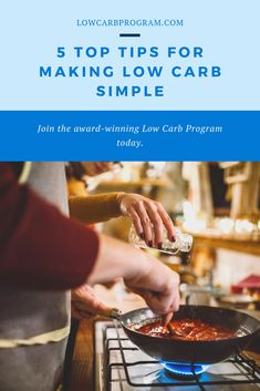 If you're new to a low carb lifestyle, learning about what foods you can and can't eat might seem a little confusing. However, by sticking to the basics and keeping things simple, you can discover how low carb can be both easy and enjoyable. Low Carb Blog, Foods, Lifestyle, Learning, Eat, Simple, Tips, How To Make, Food Food