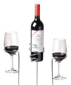 Picnic Stix Set for those of us who like to kick back by the campfire with our wine within reach all evening :-)